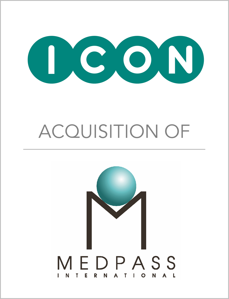 ICON plc_Acquisition Of_Medpass Internat