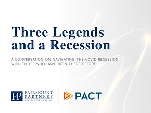 Three Legends and a Recession Cover Imag