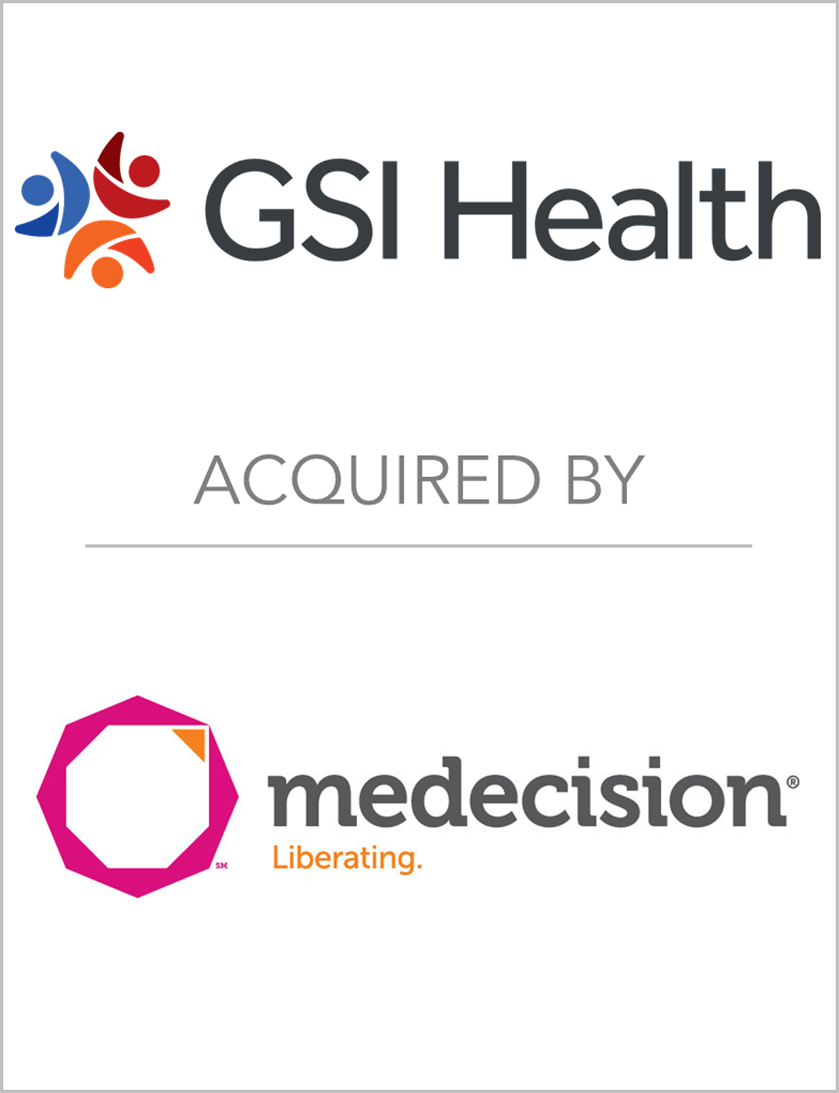 GSIHealth_AcquiredBy_Medecision