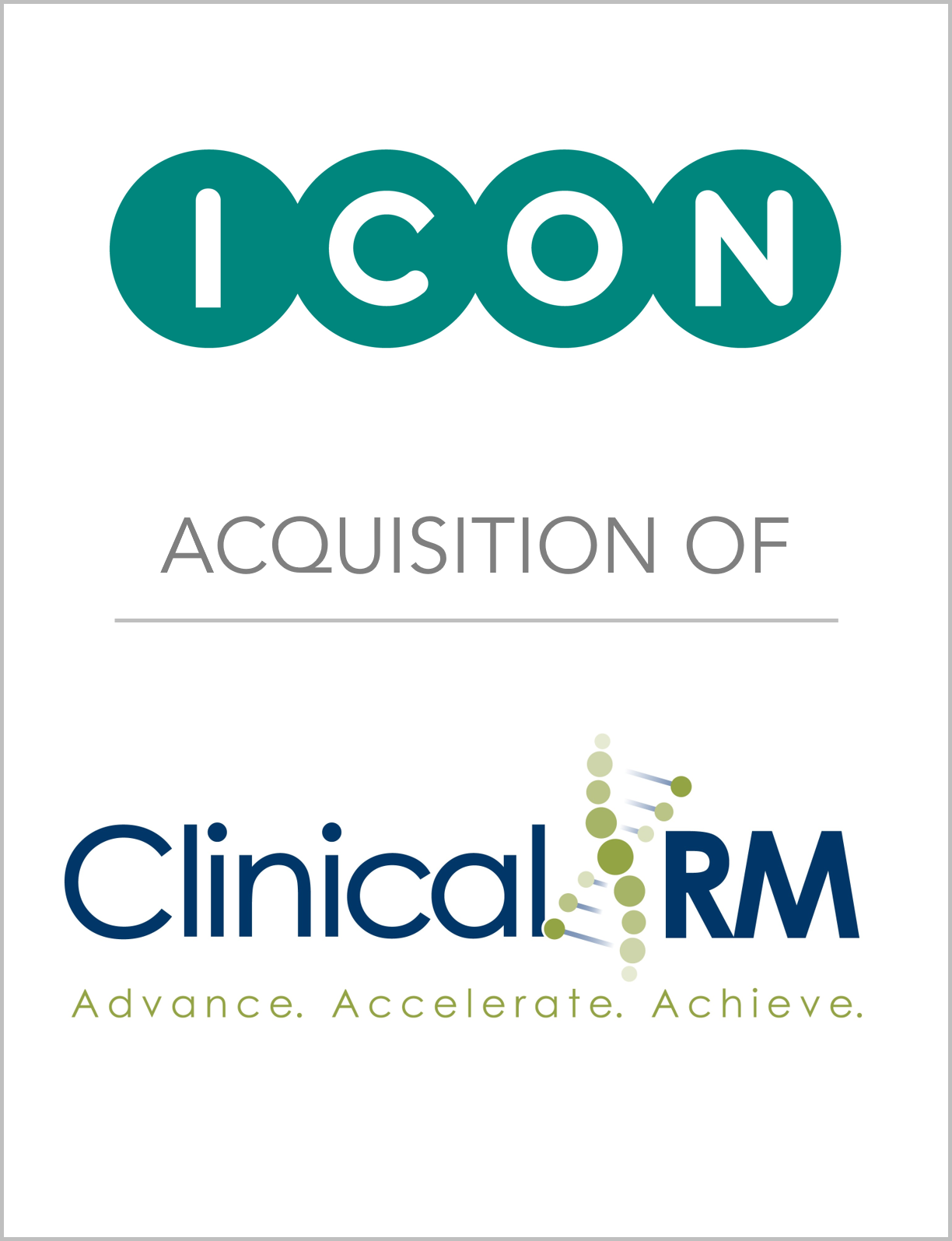 Fairmount Partners Assists ICON in t