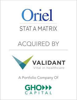 Oriel_AcquiredBy_Validant_PortfolioOfGHO