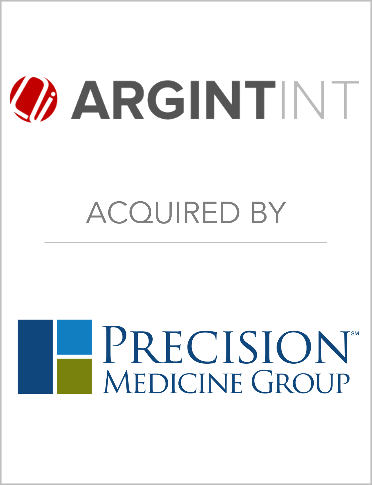 Fairmount Partners Assists Argint In