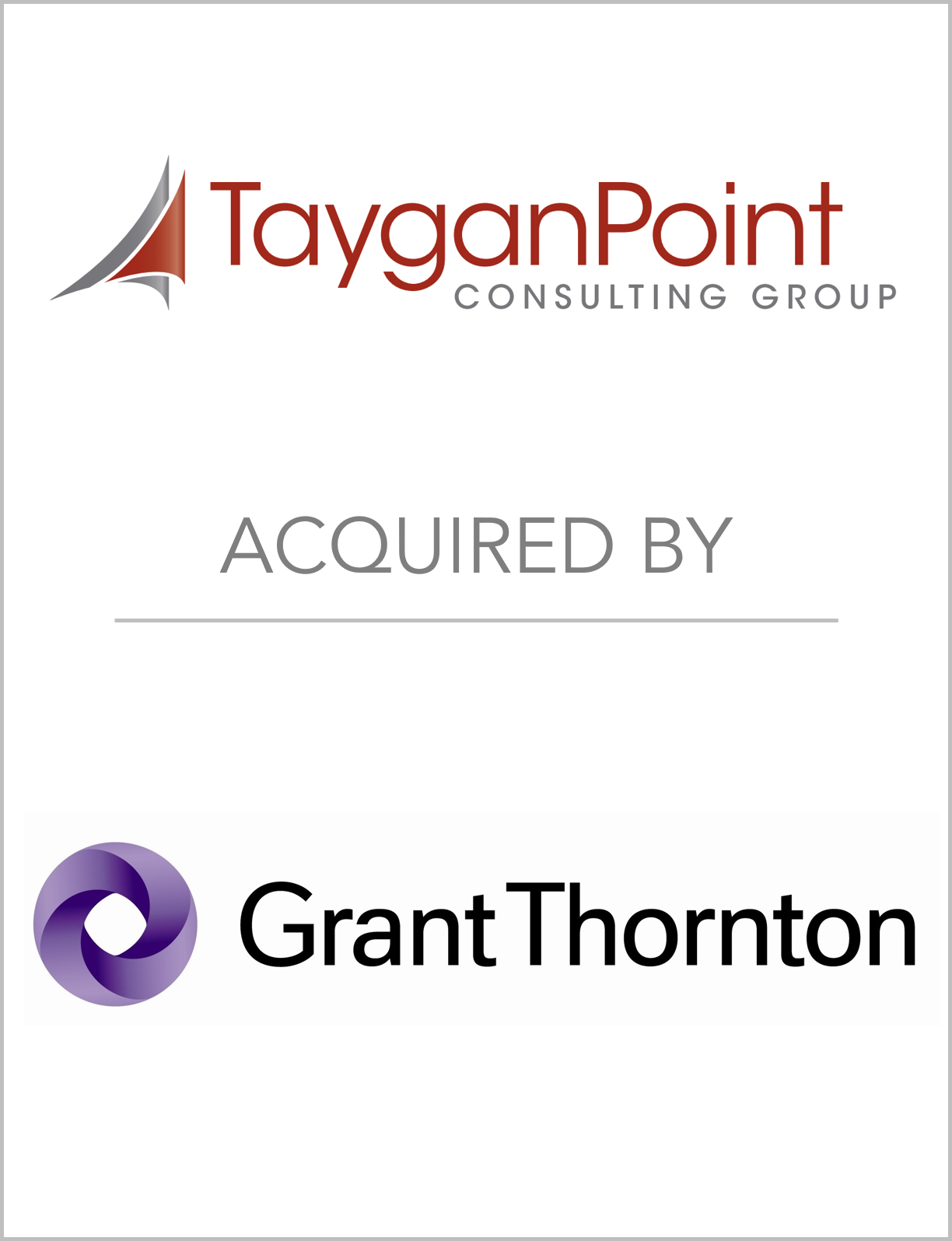 Fairmount Advises TayganPoint Consul