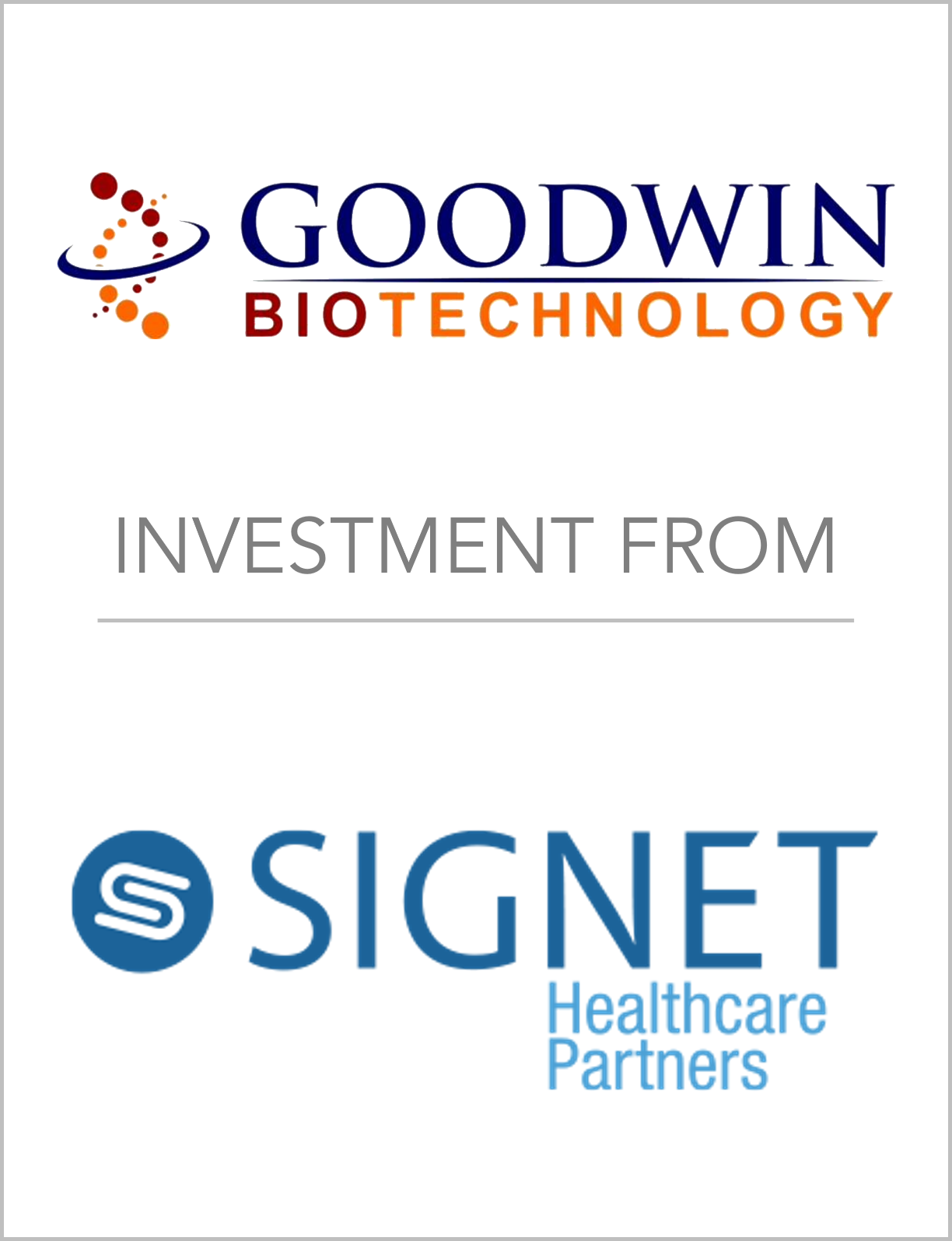 Fairmount Partners Helps Goodwin Bio