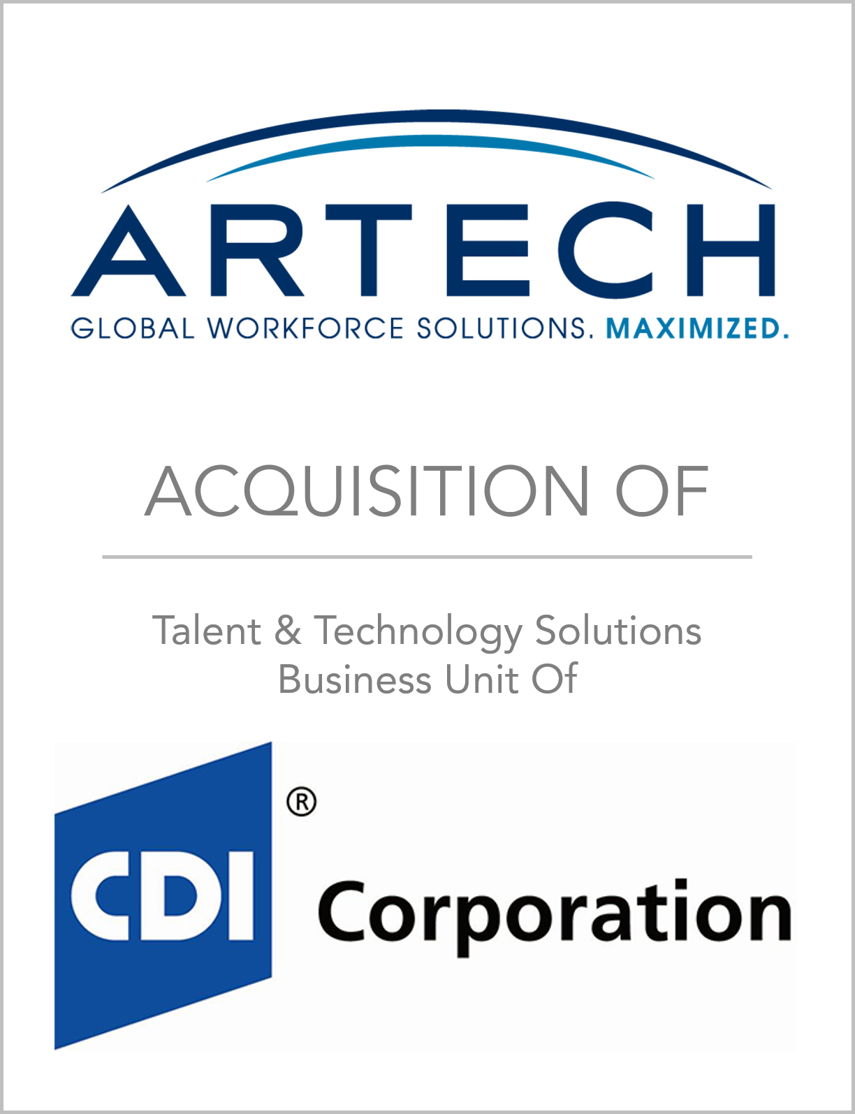 Fairmount Partners Advises Artech in