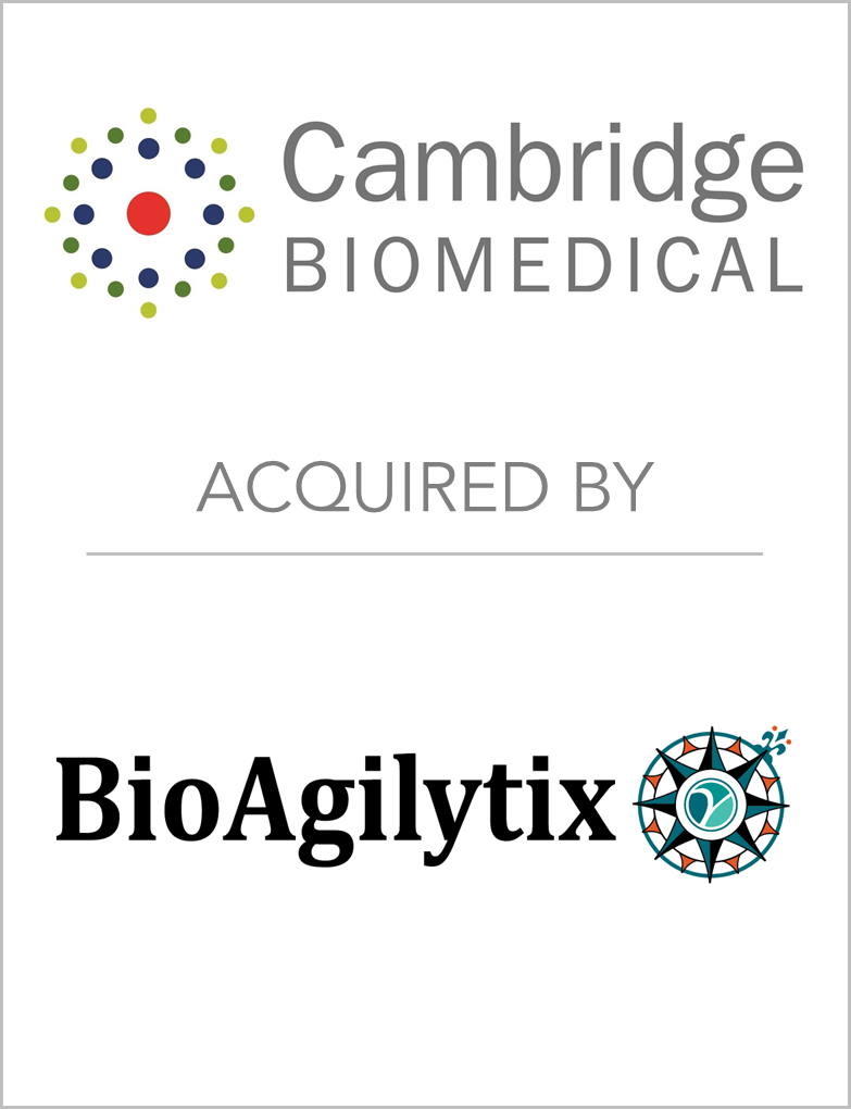 CambridgeBiomedical_AcquiredBy_BioAgilyt