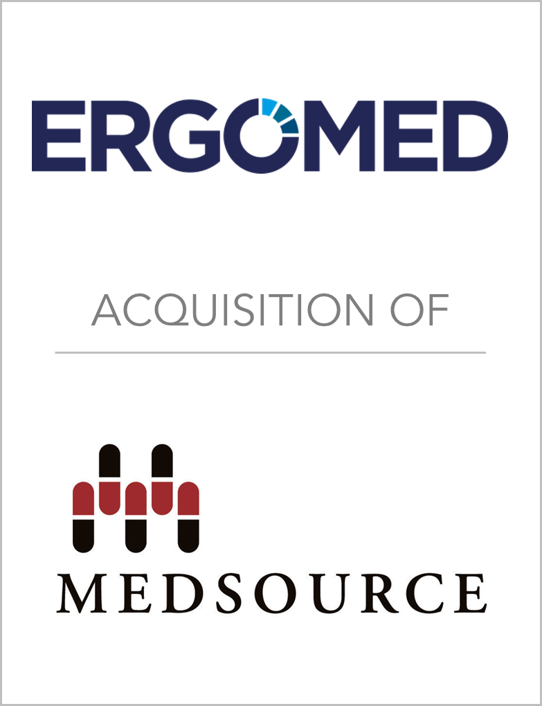 Ergomed_Acquisiton Of_MedSource