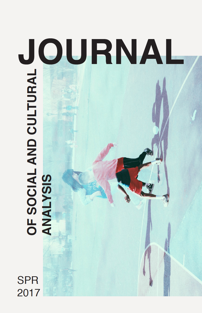 Journal of Social and Cultural Analysis: Spring 2017