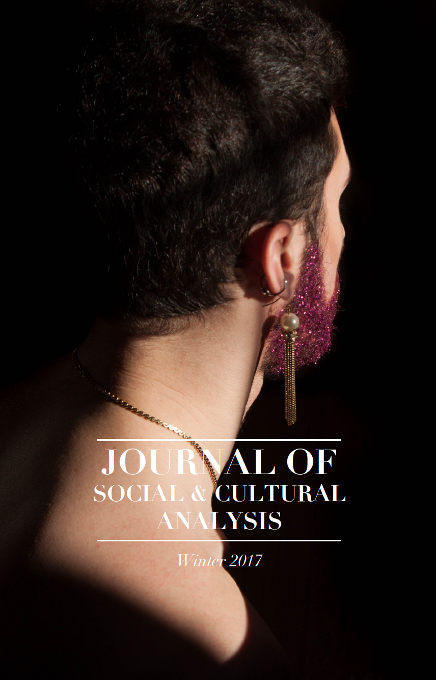 Journal of Social and Cultural Analysis: Winter 2017