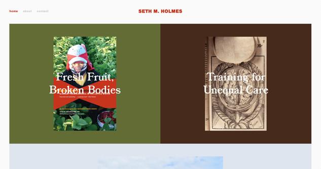 sethmholmes.com