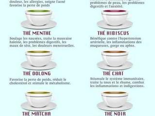 Bienfaits des thés (d'été)