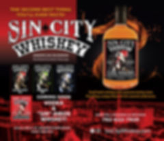 sin city whiskey products