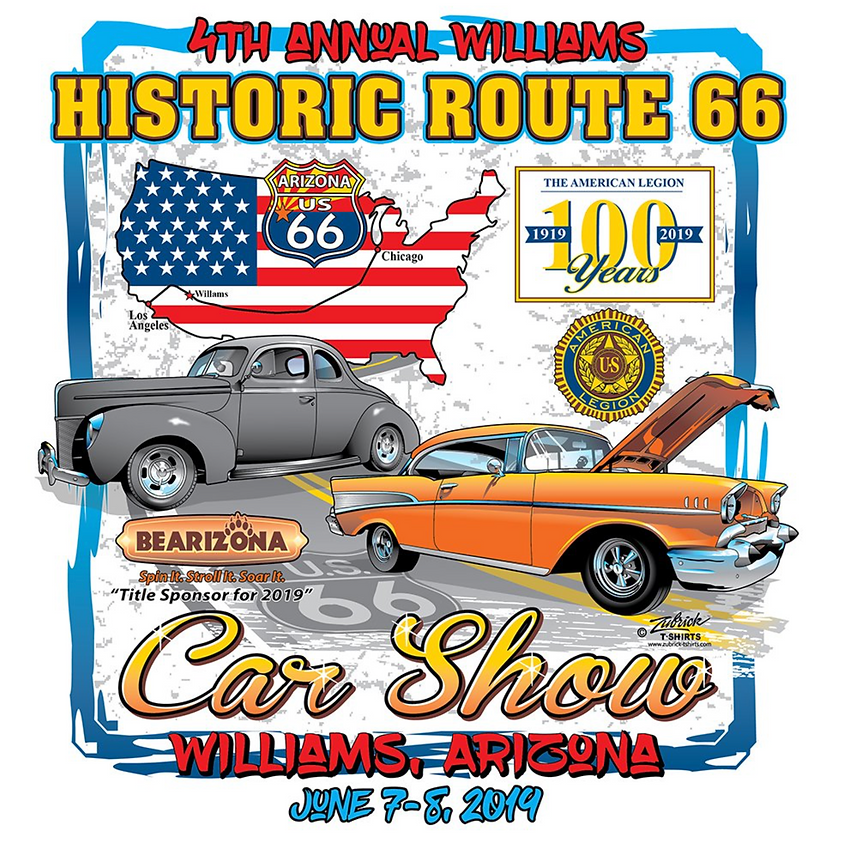 4th Annual Williams Historic Route 66 Car Show