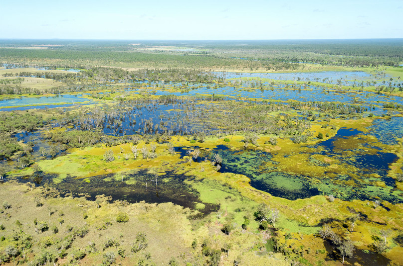 Magela Flood Plain  Dry  60 Minute & Day