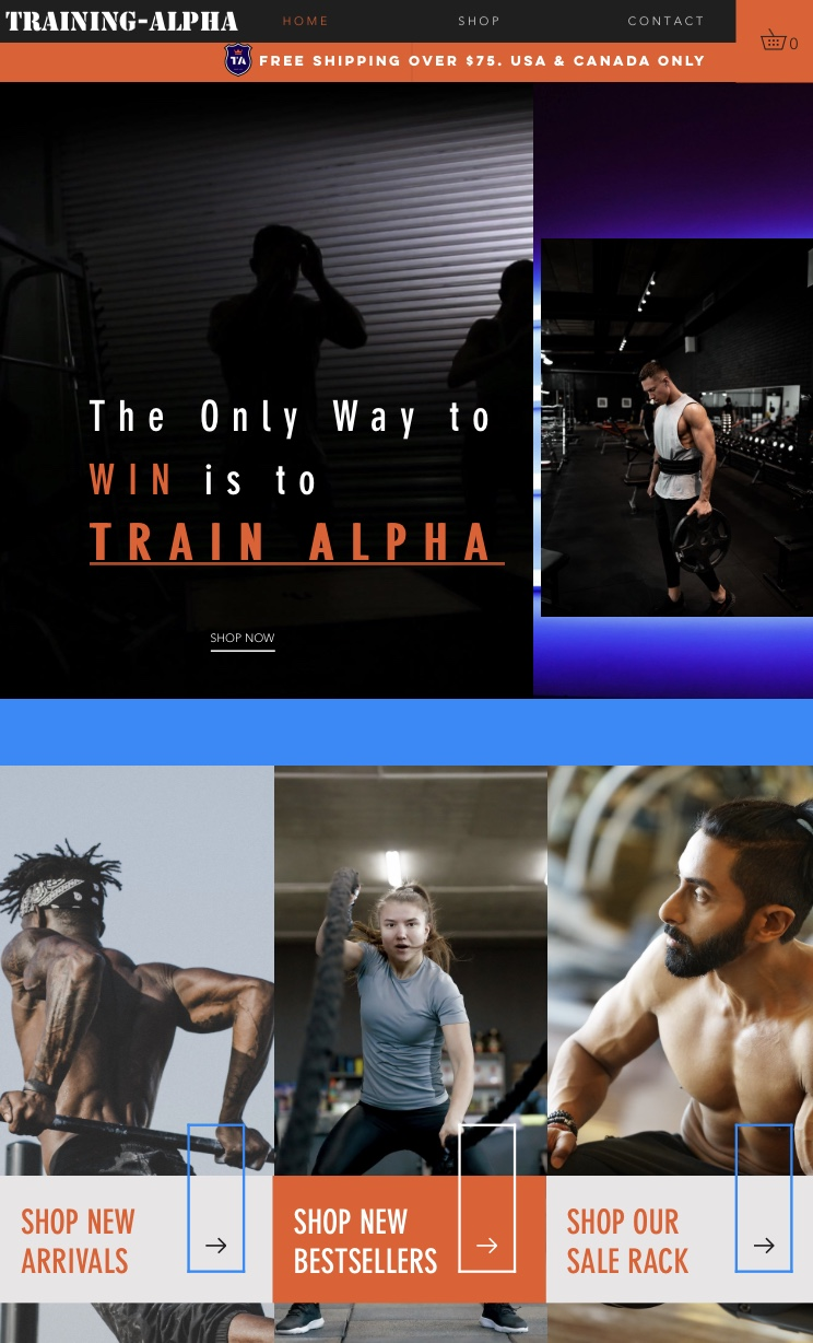 Training-Alpha