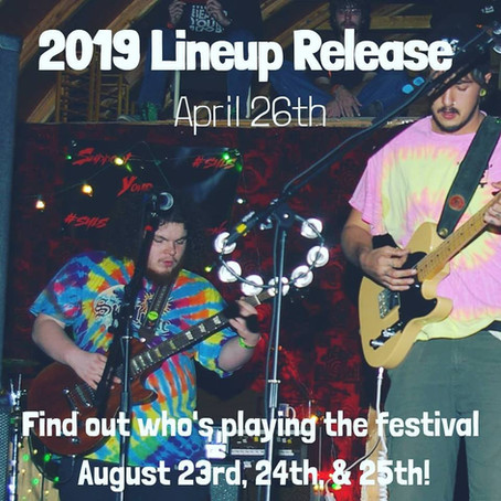 Lineup Release April 26th!