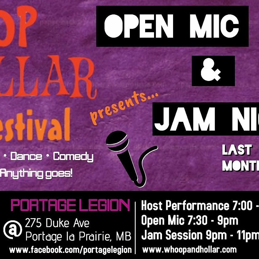 Open Mic & Jam Night