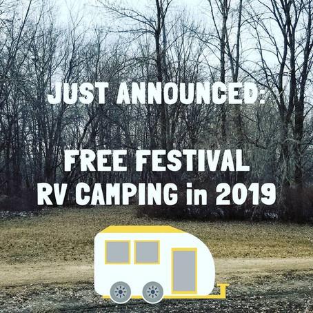 RV Camping Added!