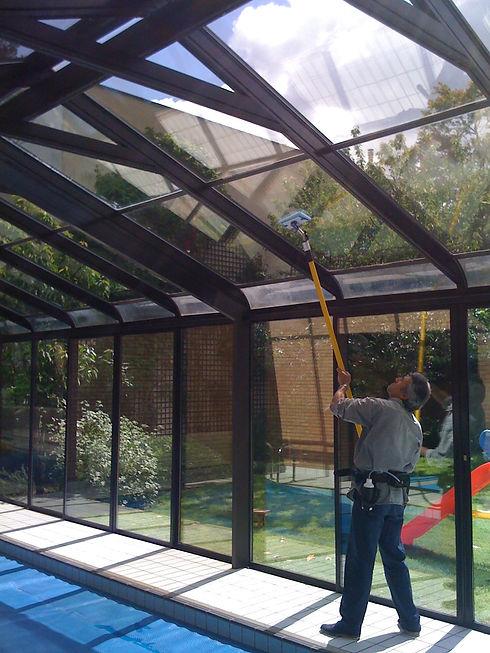 system H2O nettoyage vitre