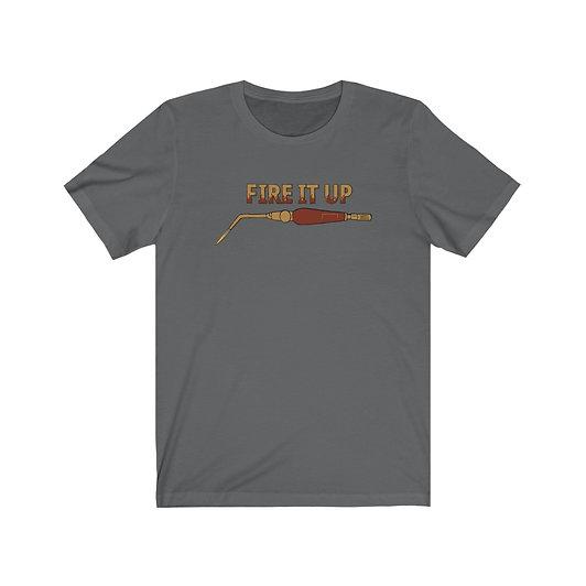Fire it Up! Metalsmiths • Unisex Jersey Short Sleeve Tee