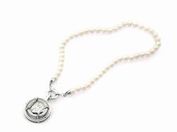 Small Blanc De Blanc Pearl Necklace