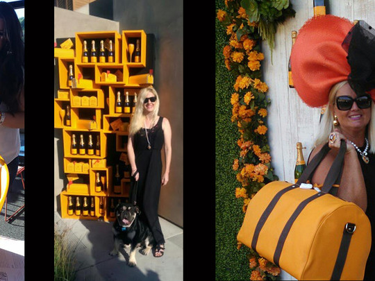Wearing Memories at the Veuve Clicquot Polo Classic