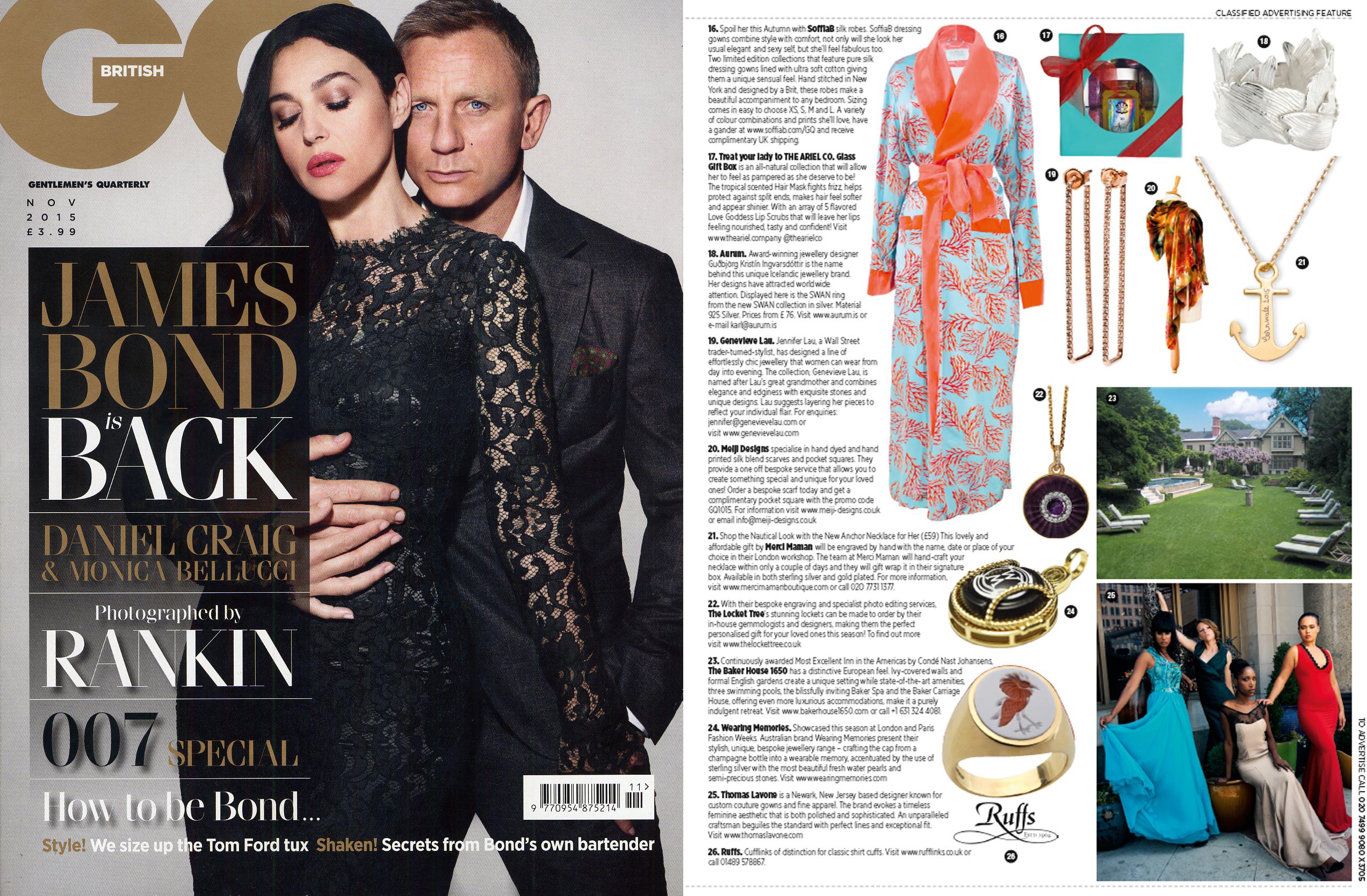 Gentleman's Quarterly November 15