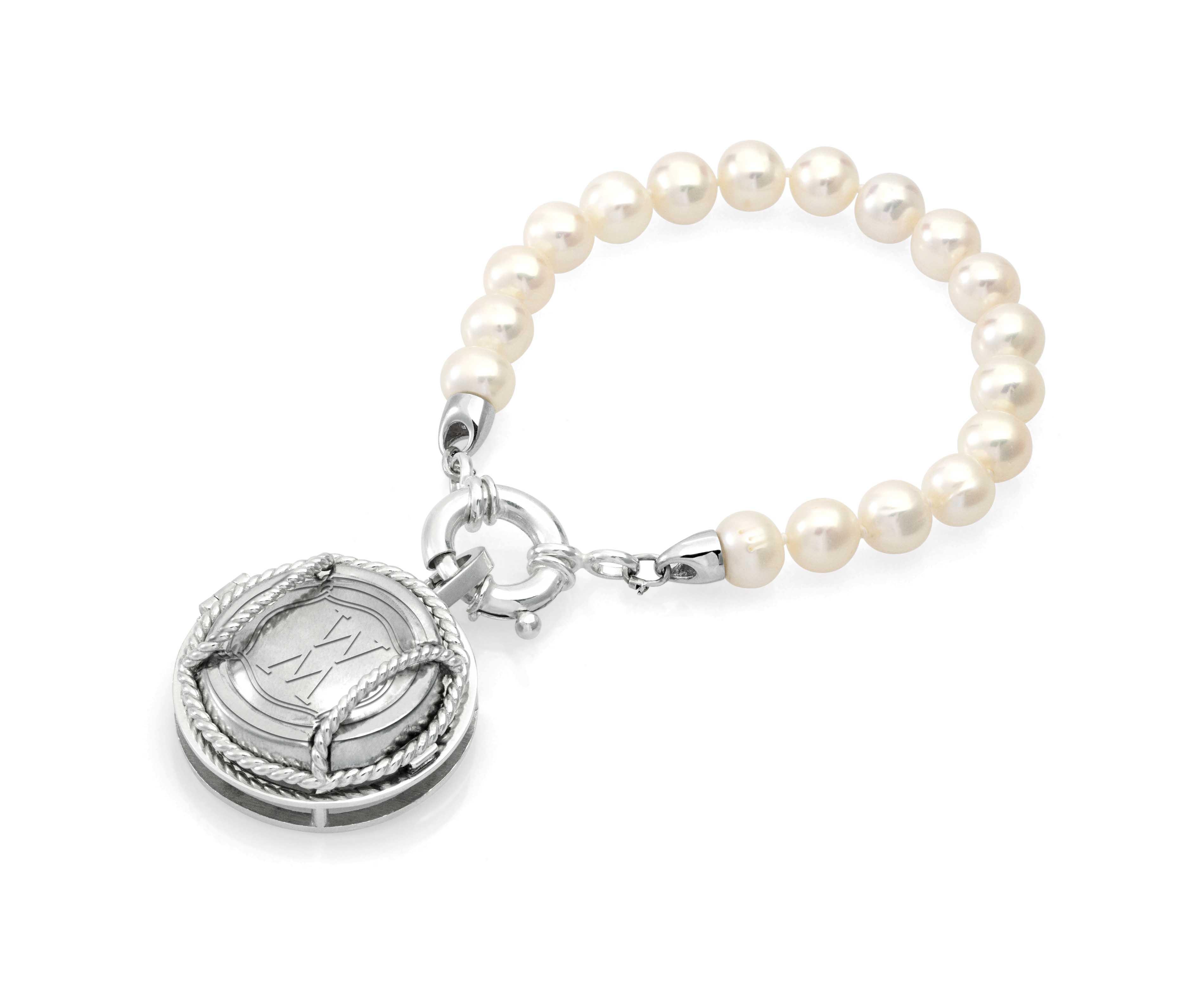 Blanc De Blanc Pearl Bracelet