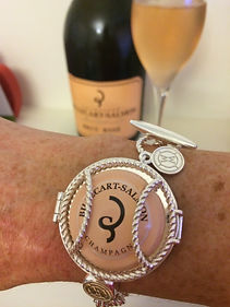 Wearing Memories, Champagne Gifts, Wedding Jewellery, Wedding Gift, Bridesmaid Gift, Champagne Lover