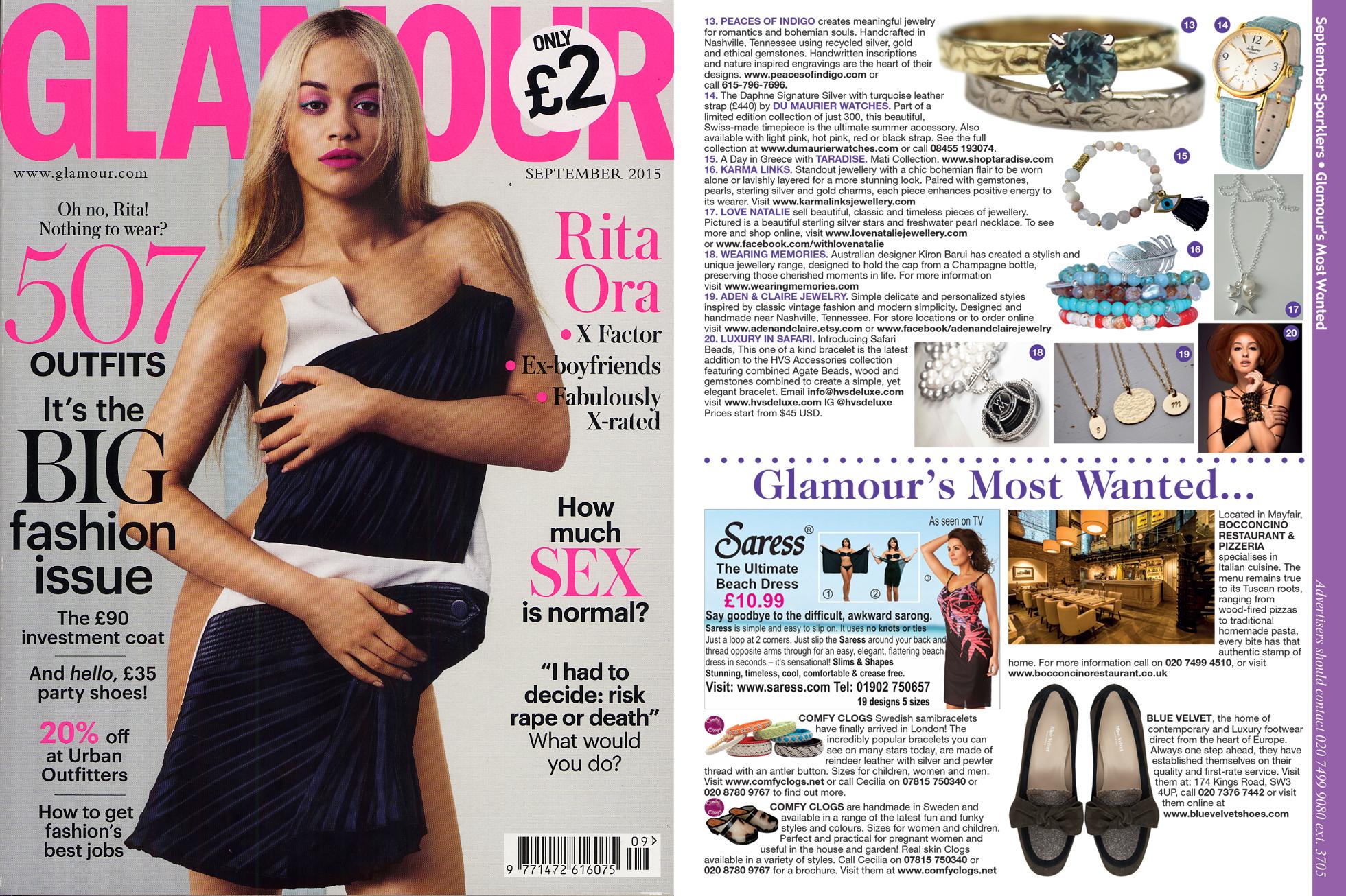 Glamour Magazine September 15