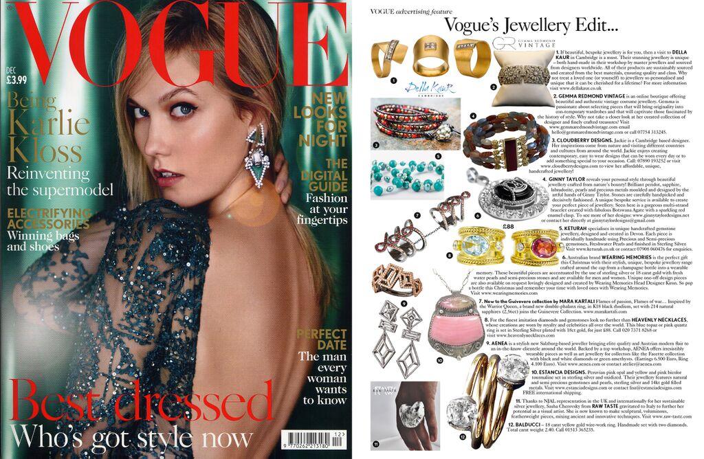 Vogue Magazine December 15