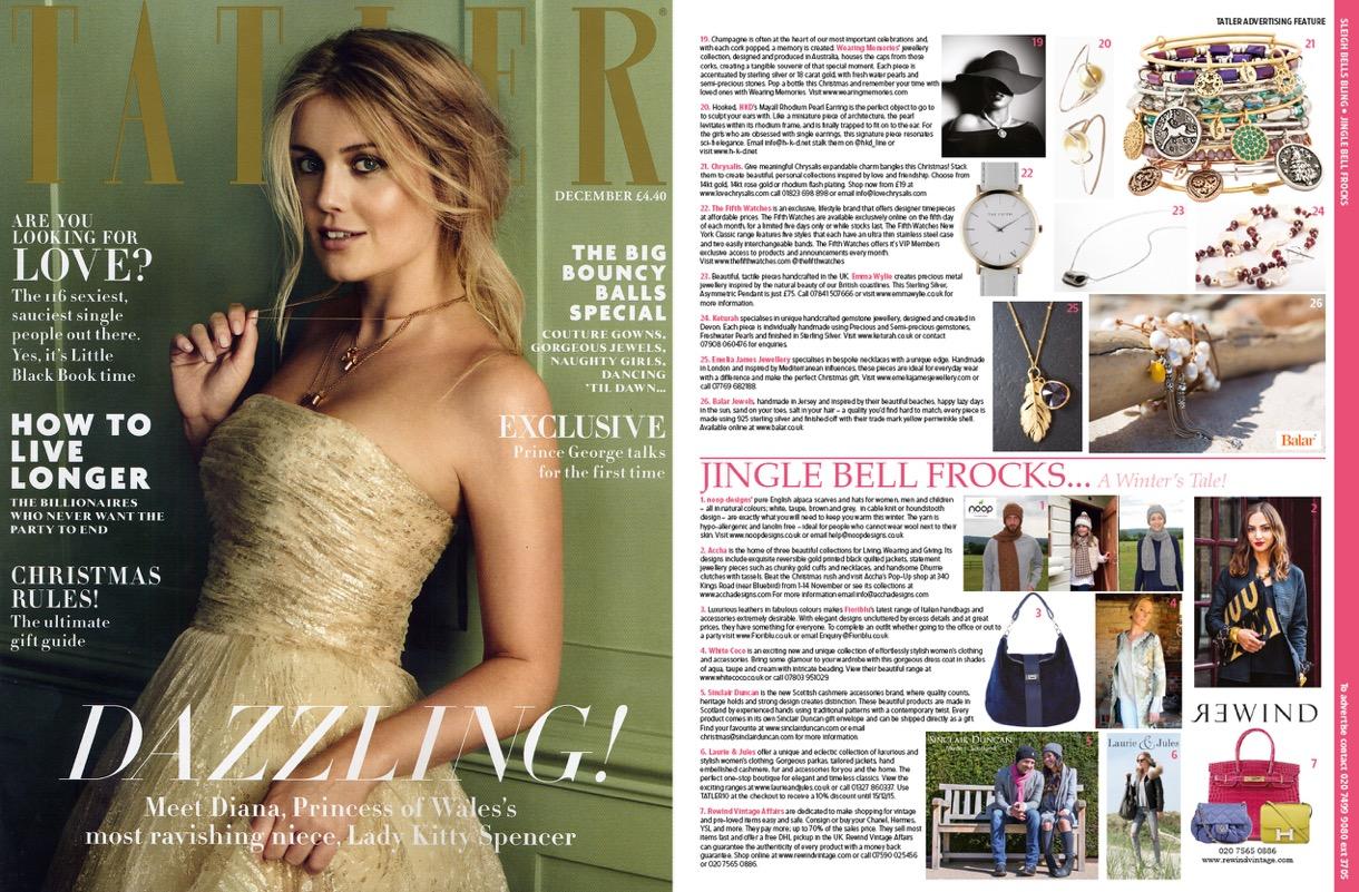 Tatler Magazine December 15