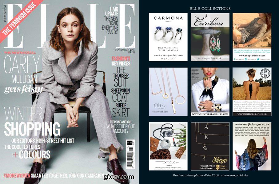 Elle Magazine November 15