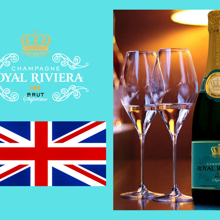 Champagne Royal Riviera Now in the UK!