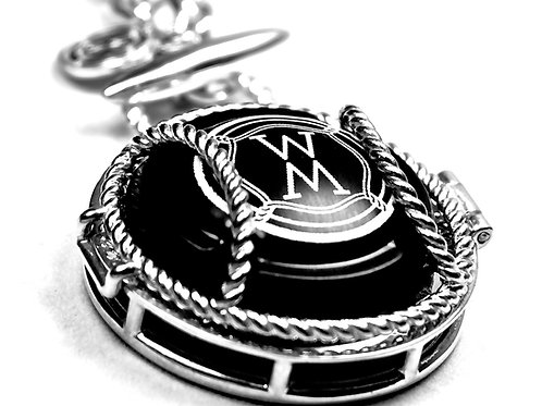 WS Fob Necklace with Locket ($495.00 USD inc. GST)