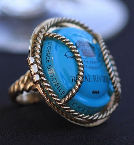 WS R2W Cocktail Ring Bronze ($137.50 USD inc. GST)
