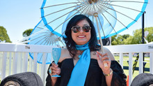 Wearing Memories Jewellery and Royal Riviera Champagne Delight Guests at the Spring Polo, Australia