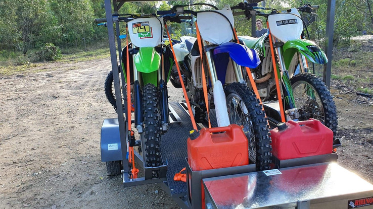4 Bike Trailer without Camping Equipment