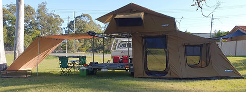 Custom Built Trailer with Tent