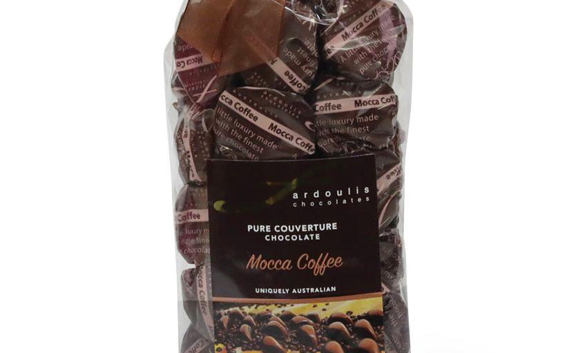 25 Mocca Coffee Chocolates Gift Bag 250g