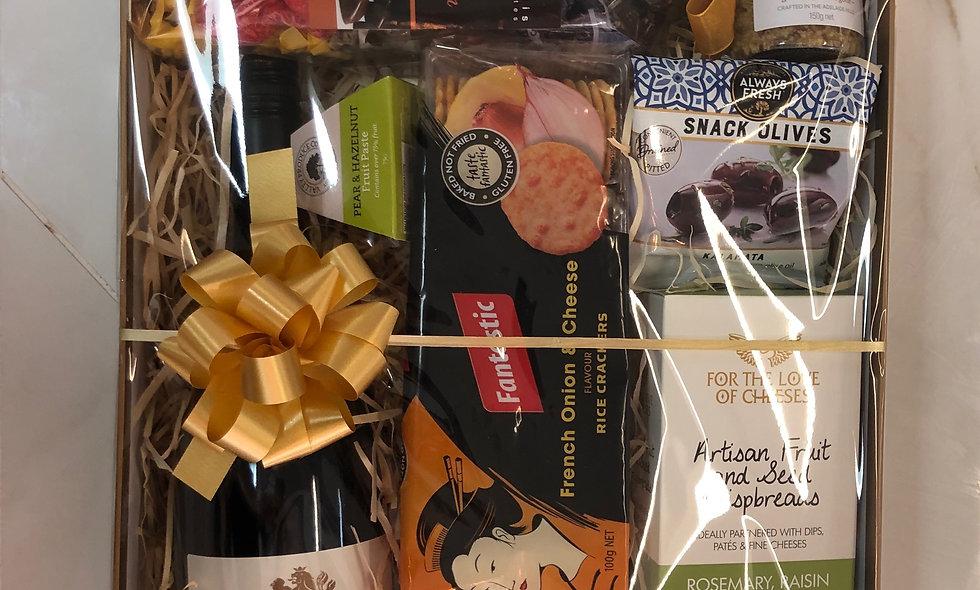 Tasmanian Pinot Noir, Chocolates and goodies Gift Box