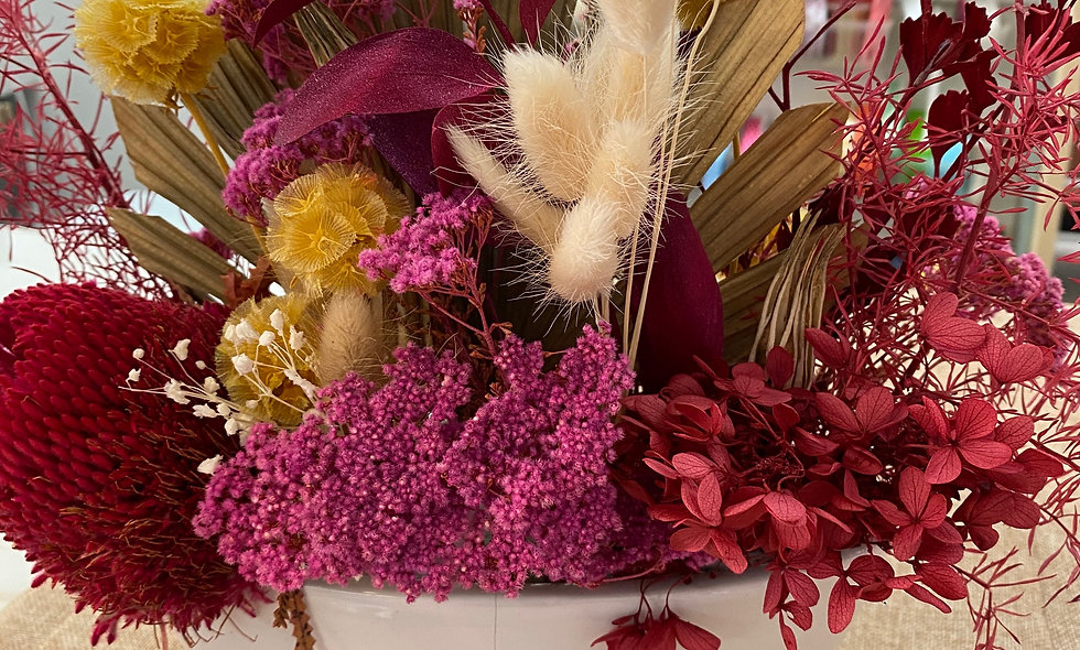 Dry flower arrangements $75 - $145