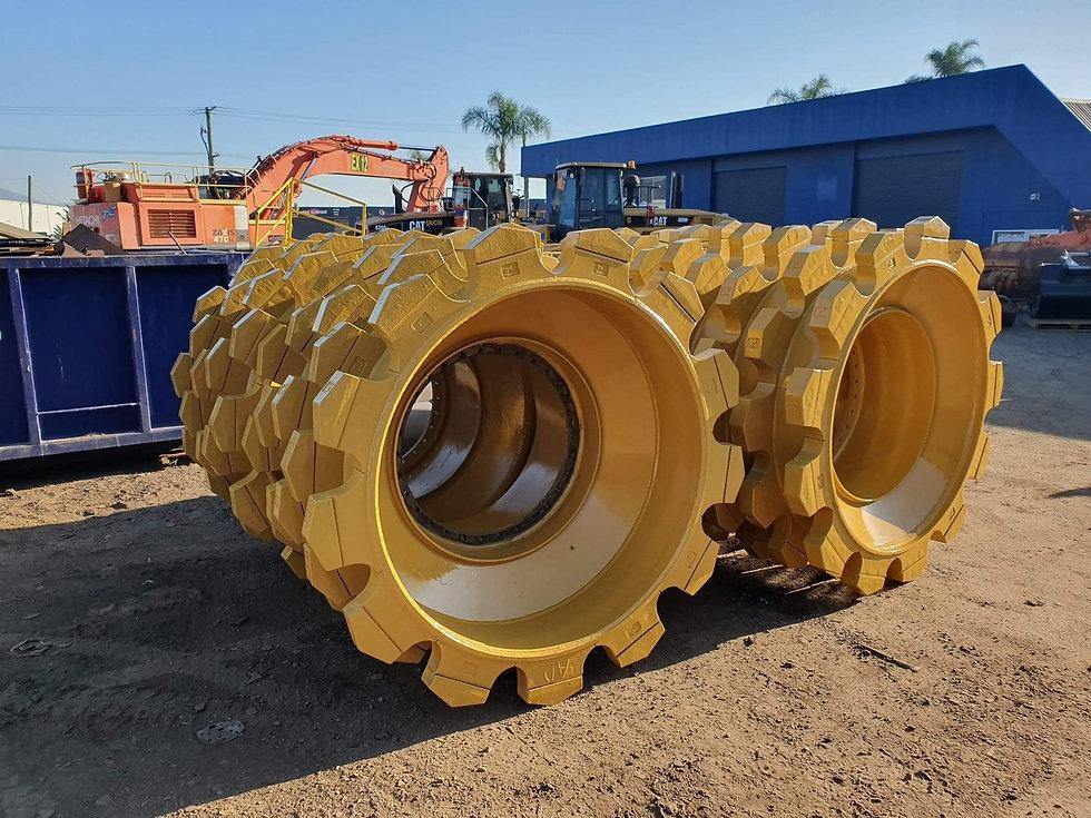 Crusher wheels for Bulldozer