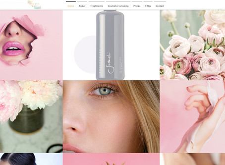 New website launched for Brow Boss by Fiona