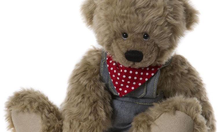 Cobby Alice's Bear Shop Plush Teddy Bear
