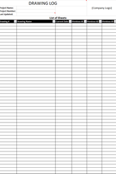 Construction schedule templates form templates for excel drawing log free pronofoot35fo Image collections