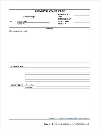 Submittal Form - Free
