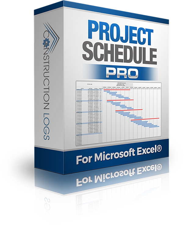 Construction Project Schedule Template – Construction Schedule Template