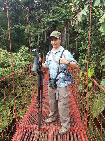 Angelo Vejarano Nature Guide Costa Rica