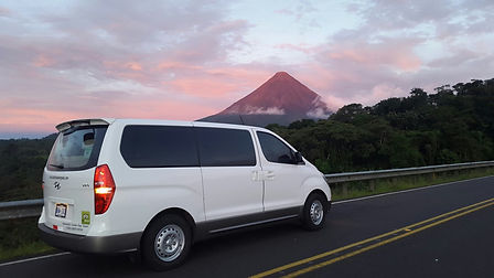Transportation to Arenal